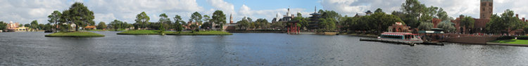 World Showcase Panorama