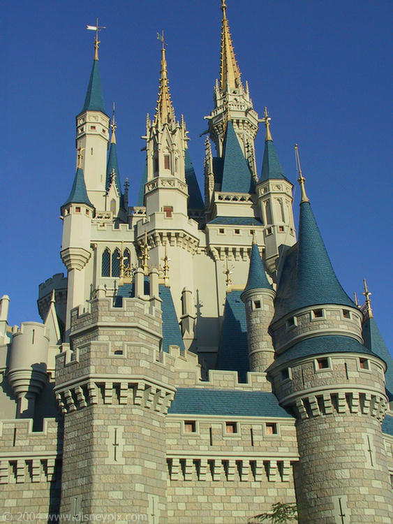 CC1104-07.htm - Cinderella Castle - Magic Kingdom - Disney Pix: The on