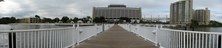 Panorama from the dock
